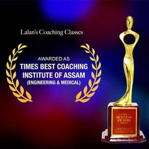 Times Award Best Coaching Institute Award in Engineering and Medical