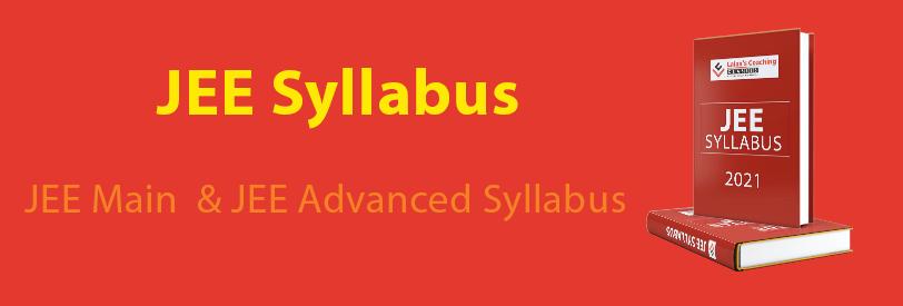 JEE-Syllabus-2021